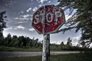 Ice To The Stop Sign