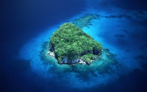 Island From Height