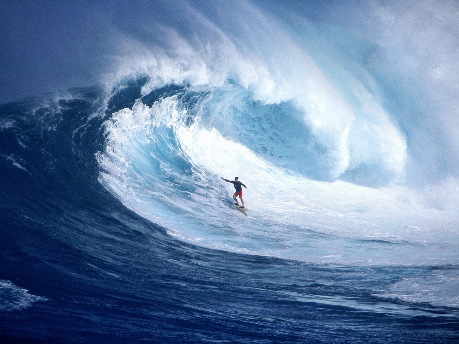 Riding The Wave Wallpaper 1600x1200 px
